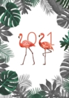 Fashion Diary Flamingo A6 Diary 2021 - Book