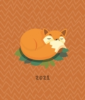 Fashion Diary Fox Square Pocket Diary 2021 - Book