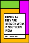 Things as They Are: Mission Work in Southern India - eBook
