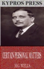 Certain Personal Manners - eBook