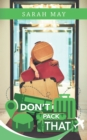 Don't Pack That - eBook