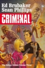 Criminal Deluxe Edition, Volume 3 - Book