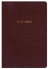 KJV Super Giant Print Reference Bible, Classic Burgundy LeatherTouch, Indexed - Book