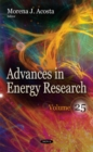 Advances in Energy Research : Volume 25 - Book