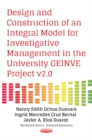 Design & Construction of an Integral Model for Investigative Management in the University GEINVE Project v2.0 - Book