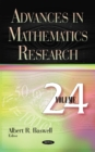 Advances in Mathematics Research : Volume 24 - Book