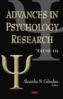 Advances in Psychology Research. Volume 134 - eBook
