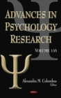 Advances in Psychology Research. Volume 135 - eBook