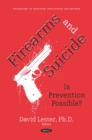 Firearms and Suicide: Is Prevention Possible? - eBook