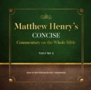 Matthew Henry's Concise Commentary on the Whole Bible, Vol. 2 - eAudiobook