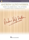 Andrew Lloyd Webber For Classical Players Violin And Piano (Book/Online Audio) - Book