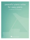 Peaceful Piano Solos For Easy Piano - Book