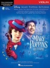 Instrumental Play-Along : Mary Poppins Returns - Violin (Book/Online Audio) - Book