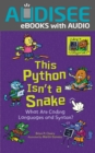 This Python Isn't a Snake : What Are Coding Languages and Syntax? - eBook