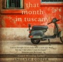 That Month in Tuscany - eAudiobook