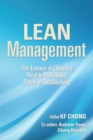 Lean Management : The Essence of Efficiency  Road to Profitability Power of Sustainability - eBook