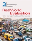 RealWorld Evaluation : Working Under Budget, Time, Data, and Political  Constraints - Book
