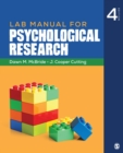 Lab Manual for Psychological Research - eBook