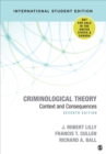 Criminological Theory : Context and Consequences - Book