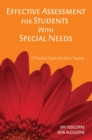 Effective Assessment for Students With Special Needs : A Practical Guide for Every Teacher - eBook