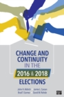 Change and Continuity in the 2016 and 2018 Elections - eBook