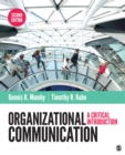 Organizational Communication : A Critical Introduction - eBook