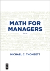 Math for Managers - eBook