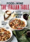 Food & Wine The Italian Table - eBook