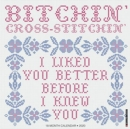 Bitchin' Cross Stitchin' 2020 Wall Calendar - Book