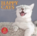 Happy Cats 2020 Wall Calendar - Book