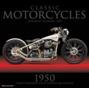Classic Motorcycles 2021 Wall Calendar - Book