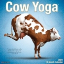 Cow Yoga 2021 Wall Calendar - Book