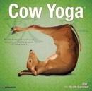 Cow Yoga 2021 Mini Wall Calendar - Book