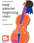 Easy Solos for Beginning Violin - Book