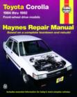 Toyota Corolla Front-Wheel Drive (84 - 92) - Book