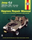 Jeep Cj (49 - 86) - Book