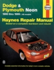 Dodge & Plymouth Neon (95 - 99) - Book