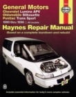 General Motors : Chevrolet Lumina APV, Oldsmobile Silhouette & Pontiac Trans Sport (1990 thru 1996) - Book