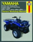 Yamaha Kodiak And Grizzly ATVs (93 - 05) - Book