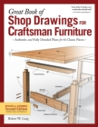 Great Book of Shop Drawings for Craftsman Furniture - Book