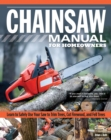 Chainsaw Manual for Homeowners - Book