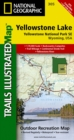 Yellowstone Se/yellowstone Lake : Trails Illustrated National Parks - Book