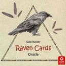 Raven Cards Oracle Deck - Book
