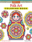 Folk Art Coloring Book - Book