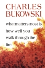 What Matters Most is How Well You - Book