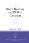 Ruled Reading and Biblical Criticism - Book
