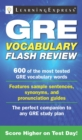 GRE Vocabulary Flash Review - eBook