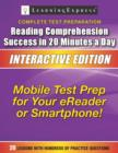Reading Comprehension Success in 20 Minutes a Day : Interactive Edition - eBook
