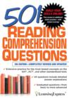 501 Reading Comprehension Questions - eBook
