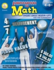 Jumpstarters for Math, Grades 4 - 8 - eBook